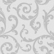Vinyl Wallpaper Roll Silver Collection
