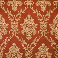 Golden Damask Wall Paper Roll
