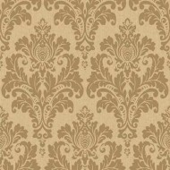 Non Woven Damask Style Wallpaper Roll