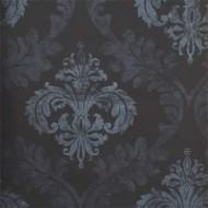 Shabby Chic Damask Wallpaper Roll